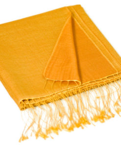 Reversible Pashmina Stole - 70x200cm - 8020 - Apricot and Ginger Bread