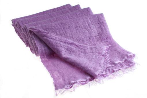 Angelweave Pashmina - 90% Cashmere / 10% Silk - 55x200cm - Dusty Lavender