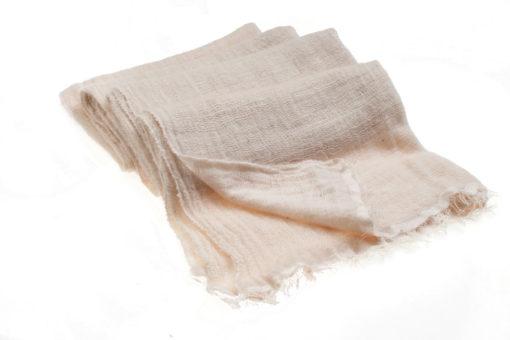 Angelweave Pashmina - 90% Cashmere / 10% Silk - 55x200cm - Sandshell