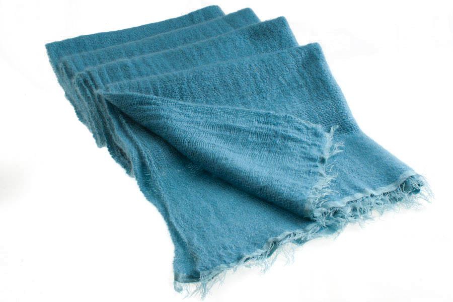 Angelweave Pashmina - 90% Cashmere / 10% Silk - 55x200cm - Larkspur