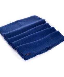 Winter Weight Wavy Shawl - Insigina Blue