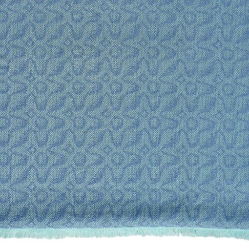 Meera Ikat Stole - 70% Cashmere/30% Silk - 70x200cm - 178grams