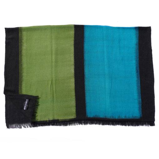 4 Square Ikat - 100% Cashmere - 70x183 Cm