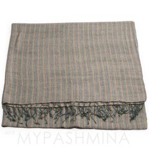Heavy Weight Throw - 70% Cashmere/30% Silk - Basket Weave 450grams - 125x200cm