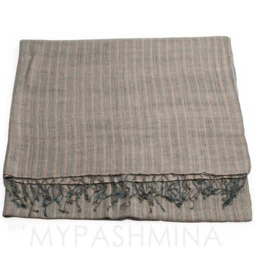 Heavy Weight Throw - 70% Cashmere/30% Silk - Basket Weave 450grams - 125x200cm