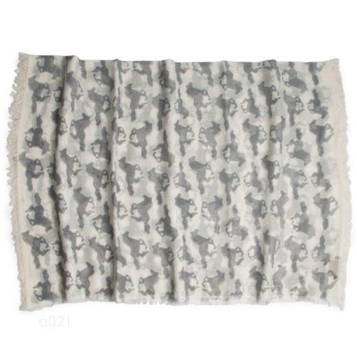 Stole - 80% Wool / 20% Modal - Fausta Print - 70x200cm