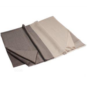 4 Colour Stole - 100% Cashmere - Diamond Weave - 70x200cm