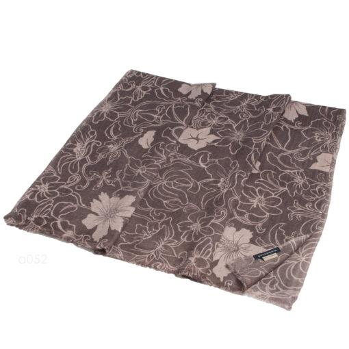 Printed Stole - 100% Cashmere - Diamond Weave - Gucci Flower - 70x200cm