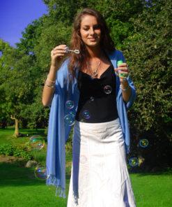 Pashmina Stole - 70x200cm - 70% Cashmere / 30% Silk - Citrus