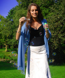 Pashmina Stole - 70x200cm - 70% Cashmere / 30% Silk - Duck Green