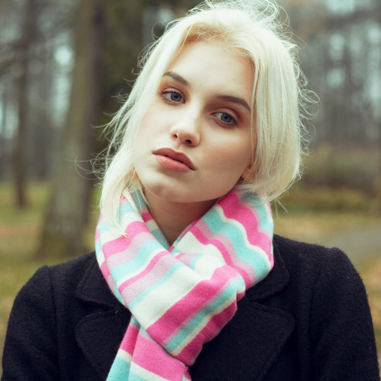 Stripey Cashmere Scarves