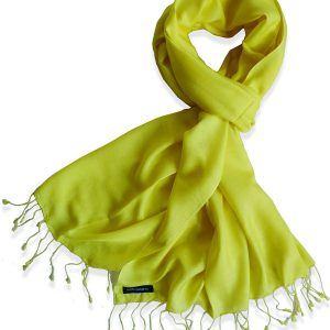 Pure Silk Scarf (210 Quality) - 60x190cm - Sunflower