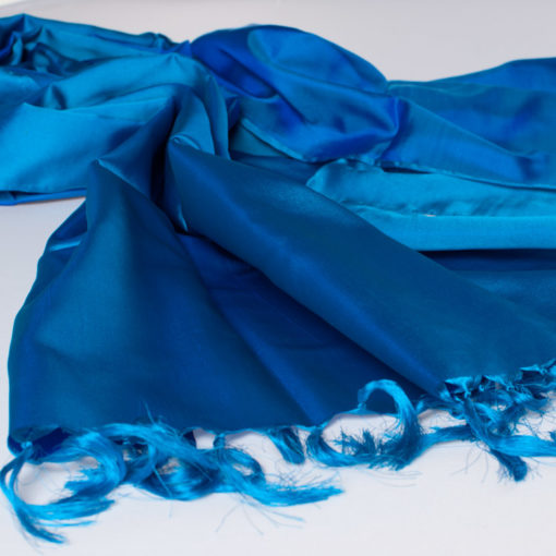 Varanasi Silk Scarf - 55x180cm