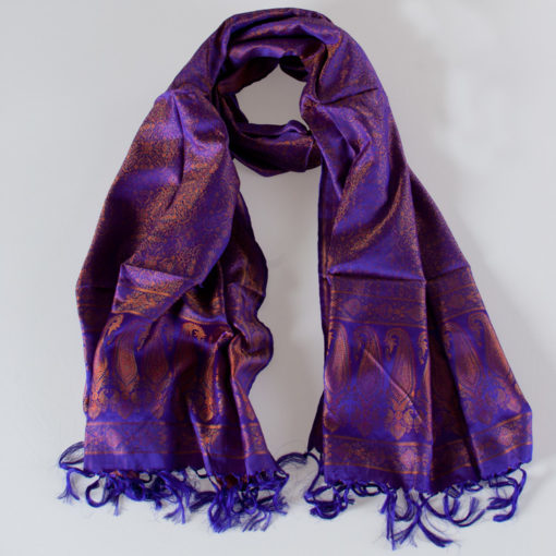 Varanasi Silk Scarf -55x180cm