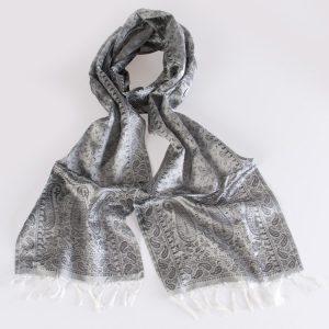Varanasi Silk Scarf - 26x180cm