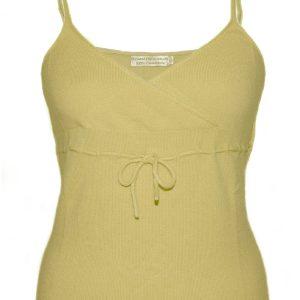 Ladies Vest Top - 100% Cashmere - Large - Lavender