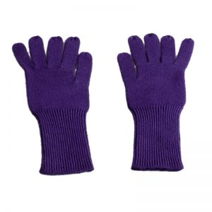 Classic Cashmere Gloves - Plum Perfect