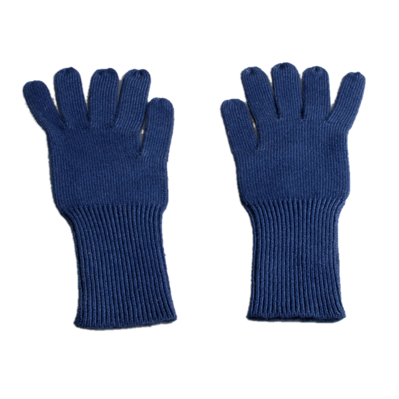Classic Cashmere Gloves - Medieval Blue