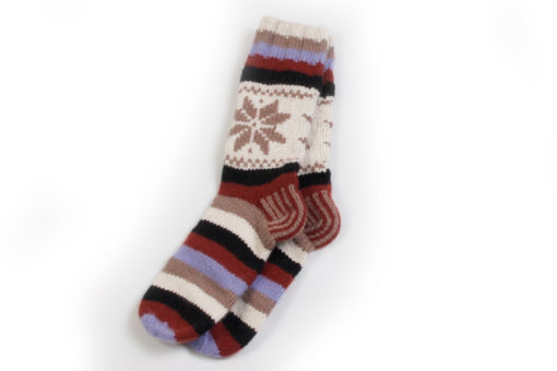 Ladies Fairilse Socks - UK Shoe Size 4/5 - 100% Cashmere