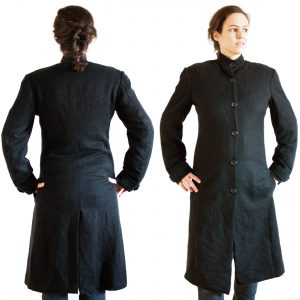 Ladies Coat - Black - Small