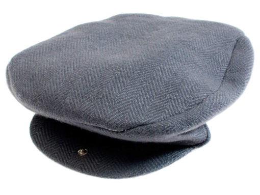 Flat Cap - Charcoal - 100%