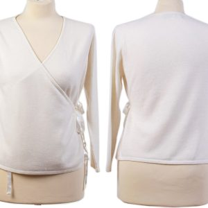 Ballet Wrap - White - Small - 100% Cashmere