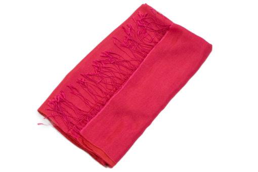 Reversible Water Pashmina - 70x200cm - Pink/Orange